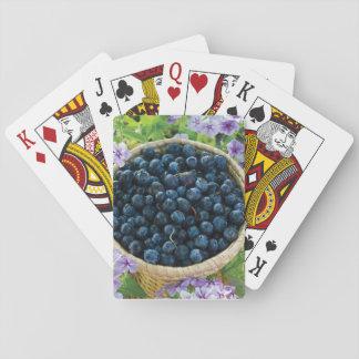 Jogo De Baralho Cartões de jogo do mirtilo