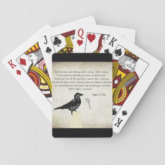 Jogo De Baralho Cartões de jogo do ponto de entrada de Edgar Allen