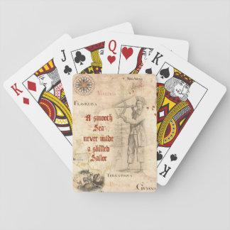 Jogo De Baralho Cartões de jogo do provérbio do marinheiro