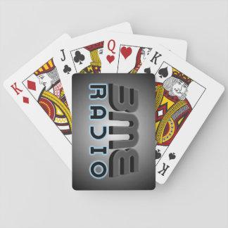 Jogo De Baralho Cartões de jogo do rádio de BME