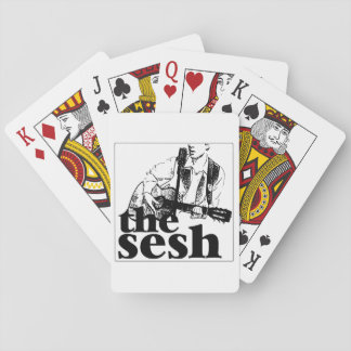 """Jogo De Baralho """"cartões de jogo do sesh"""" (brancos)"""