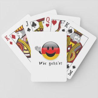 Jogo De Baralho Cartões de jogo dos geht de Wie