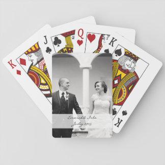 Jogo De Baralho Cartões de jogo feitos sob encomenda da foto -