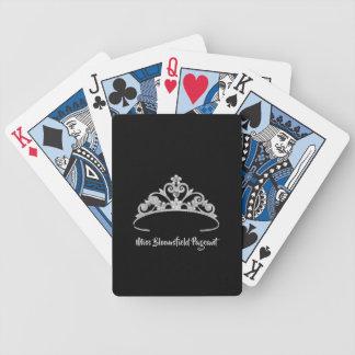 Jogo De Baralho Cartões de jogo feitos sob encomenda da tiara de