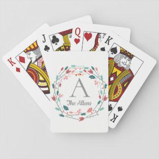 Jogo De Baralho Cartões de jogo feitos sob encomenda do nome de