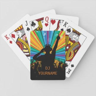 Jogo De Baralho Cartões de jogo feitos sob encomenda do texto do