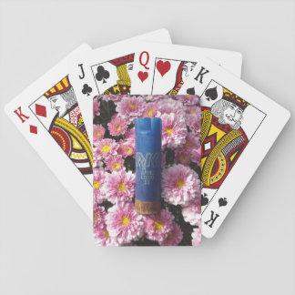 Jogo De Baralho Cartões de jogo florais de Shell da munição