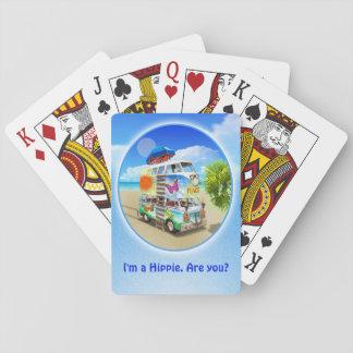 Jogo De Baralho Cartões de jogo Groovy dobro