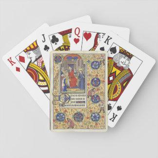Jogo De Baralho Cartões de jogo medievais de Pilate Heures