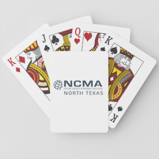 Jogo De Baralho Cartões de jogo nortes de NCMA Texas