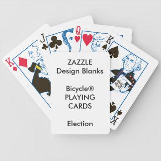 Jogo De Baralho Cartões de jogo personalizados da ELEIÇÃO de
