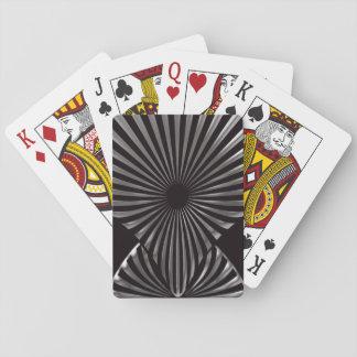 Jogo De Baralho Cartões de jogo pretos de Deco