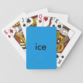 Jogo De Baralho cartões do gelo