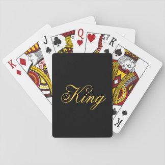 Jogo De Baralho Cartões do rei jogo