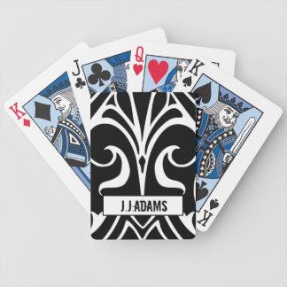 Jogo De Baralho Cartões pretos do ás