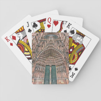 Jogo De Baralho Cathedrale Notre-Dame, Strasbourg, France