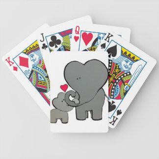 Jogo De Baralho Corações do elefante - um amor de Unforgetable
