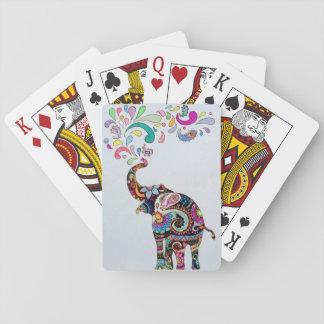 Jogo De Baralho Elefante da mandala