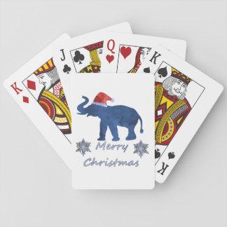 Jogo De Baralho Elefante do Natal