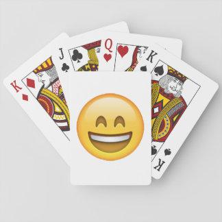 Jogo De Baralho Emoji - olhos fechados do sorriso