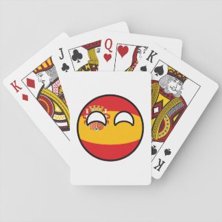 Jogo De Baralho Espanha Geeky de tensão engraçada Countryball