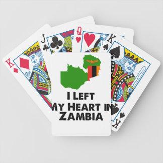 Jogo De Baralho Eu deixei meu coração na Zâmbia