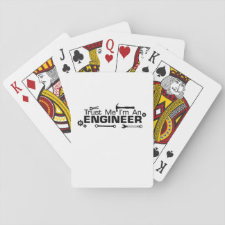 Jogo De Baralho Eu sou um engenheiro, presente para o engenheiro
