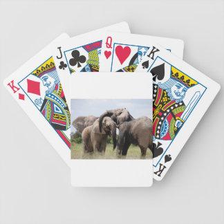 Jogo De Baralho Família do elefante de África