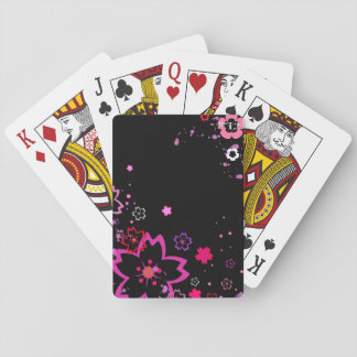 Jogo De Baralho Flor de cerejeira (grupo de cartão do jogo)