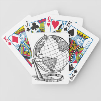 Jogo De Baralho Globo do mundo