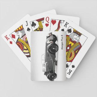 Jogo De Baralho Imagem britânica do carro para cartões de jogo