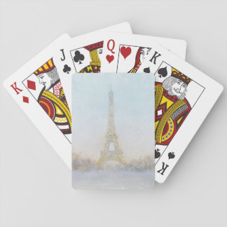 Jogo De Baralho Imagem da aguarela | de Eiffel Towe