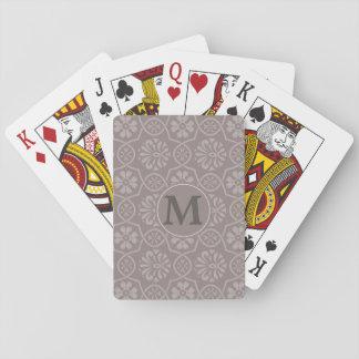 Jogo De Baralho Jogo de cartões elegante agradável do jogo com seu