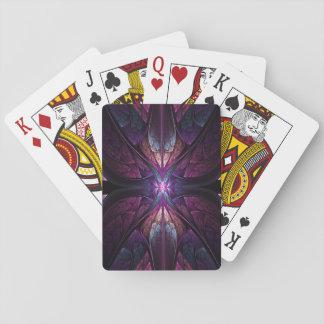 Jogo De Baralho Jóia do cartão de jogo da borboleta