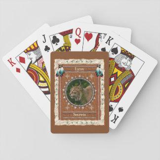 Jogo De Baralho Lince - cartões de jogo clássicos dos segredos