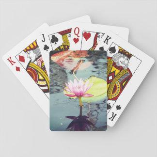 Jogo De Baralho Lotus e Waterlily