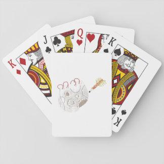 Jogo De Baralho Moonpad e cartões de jogo da caneta