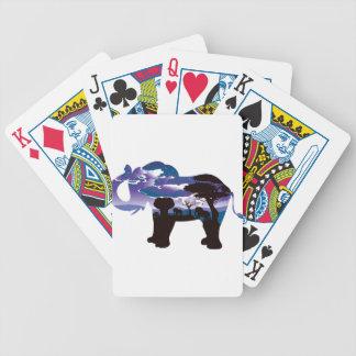 Jogo De Baralho Noite africana com elefante 5