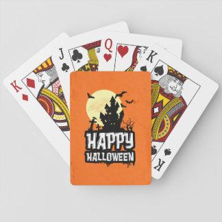 Jogo De Baralho O Dia das Bruxas feliz