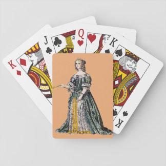 Jogo De Baralho O ~ TRAJA o ~ Henrietta, duquesa do ~ 1669 de
