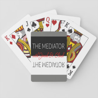 Jogo De Baralho Os cartões de jogo do mediador