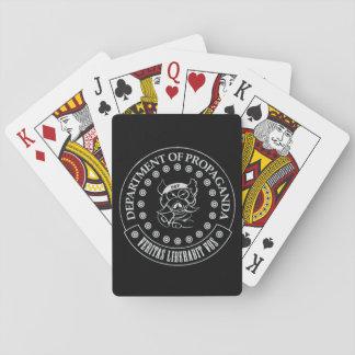 Jogo De Baralho Os D.O.P. - Cartões de jogo de S.A. Hogg (preto)