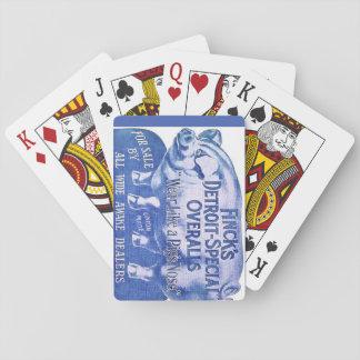 Jogo De Baralho Os macacões de Finck dos cartões de jogo do porco