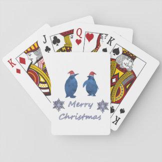 Jogo De Baralho Pinguins do Natal