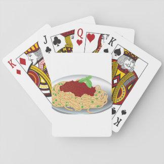 Jogo De Baralho Placa de cartões de jogo dos espaguetes