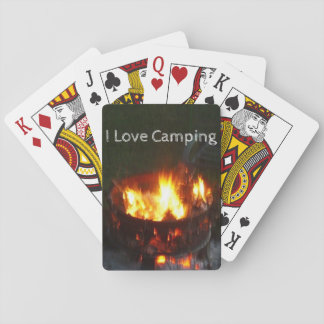Jogo De Baralho Plataforma de acampamento de cartões de jogo