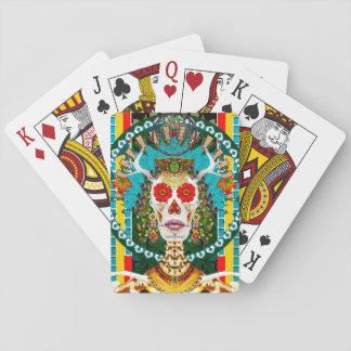 Jogo De Baralho Plataforma de cartão de La Reina De Los Muertos