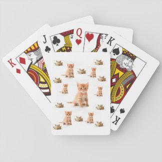 Jogo De Baralho Plataforma de cartão do jogo do gatinho