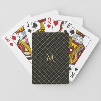 Jogo De Baralho Póquer personalizado da listra da verificação do