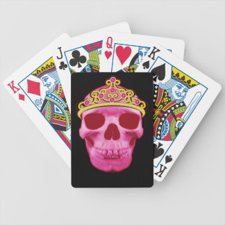 Jogo De Baralho Princesa cor-de-rosa Crânio